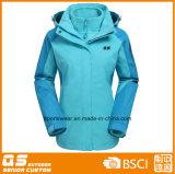 Women′s 3 in 1 Fashion Warm Jacket