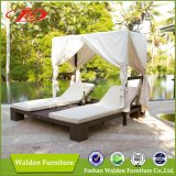Modern Outdoor Rattan Double Sun Lounger (DH-9561)