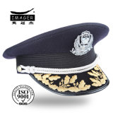 Wholesale Picked Military Uniform Cap with Pattern