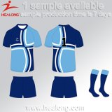 Healong Customized Design Sportswear 3D Sublimation Rugby Jersey
