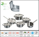 New Arrival 3 Ply Kitchenware and Cookware