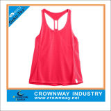 Hot Pink Women′s Dry Fit Tank Tops