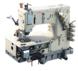 4-Needle Falt-Bed Sewing Machine with Metering Device Sewing Machine