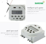 Multi-Channel Cn101A 12V Digital Time Switch on off Switch DC Timer