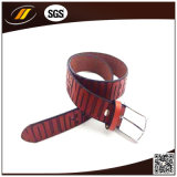 High Quality Embossed Italian Pure Leather Belt for Gentlemen