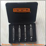 4PCS S2 Alloy Steel Double Side Broken Drill Bits Set