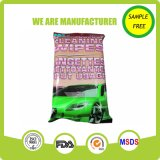 Spunlace Nonwoven Soft Cleaning Car Wet Wipes