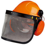 Professional Chain Saw Face Shield with Clear Visor