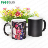 Freesub Whole Sale Sublimation11oz Hot Water Color Changing Mug Skb-05