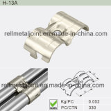 Nickel Plated Metal Joint for Pipe Rack System (H-13A)