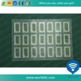 F08 Inlay with Customized Layout for RFID Card Production