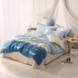 Discount Cheap Microfiber Polyester Bedding with Bed Sheet Duvet Cover