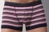 2016 BSCI Oeko-Tex 100 Men′s Underwear Boxer Dyed Yarn 032102