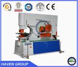 Hydraulic Iron Worker hydraulic Combined Punching and Shearing Machine with Notching