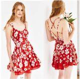 Plus Size Women Clothing Women Summer Chiffon Ladies Dress