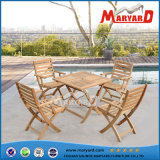 100% Solid Wood Garden Furniture Folding Teak Chairs & Dining Table