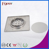 Fyeer Hot Sale Square Stainless Steel Bathroom Drainer Floor Drain
