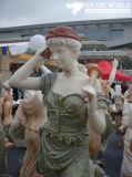 Carrara White Marble Angel Sculpture for Garden/Figure Statue/Figure Sculpture