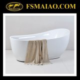Popular Antique Style Acrylic Freestanding Bathtub (BA-8208)