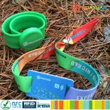 Music Festival MIFARE Ultralight EV1 RFID woven wristband