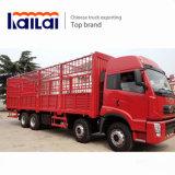 FAW 8*4 Stake Truck Ca1313 Cargo Truck 340HP Lorry Truck