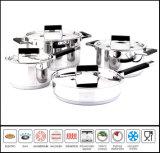 8PCS Stainless Steel Pot and Pan Set
