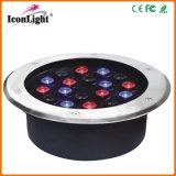 Outdoor IP66 18*1W LED Underground Light for Garden