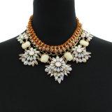 Fashion Elegant Vintage Flower Statement European Styles Necklace