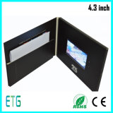 "4.3"" Have Earphone Video Greeting Card, Video Card"