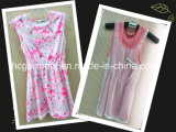 Lovery Printed Colofully Dress for Girl, Children Clothing
