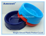 2017 Pet Supplier Non Slip Design High Quality Plastic Slow Feed Dog Bowl