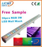 36X3w 3in1 IP65 RGB Outdoor LED Wall Washer