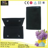 Simple Carried Black Hand Jewelry Bag (1256)