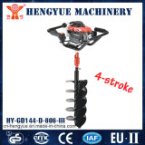 4 Stroke Earth Auger with High Efficiency