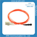 Sc-MTRJ Multimode Duplex Fiber Optic Cable/Patchcord