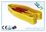 2017 Newest 100% Polyester Solid Webbing for Industrial Lifting