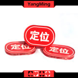 Oval Locate Brand Poker Chip (YM-LE02)