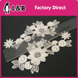 Sew on 3D Flower Applique Collar Lace