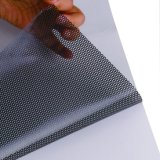 Ecomonic Grade Window Advertising/Decoration Perforated Vinyl One Way Vision One Side See Thru
