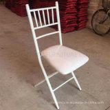 Iron Folding Tiffany Chiavari Chair for Wedding and Event