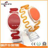 125kHz/13.56MHz Waterproof PVC RFID Bracelet for Bathroom /Sauna