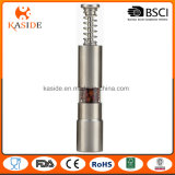 Premium Stainless Steel One Hand Operate Pepper Mill