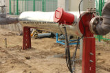 Site Heater with Electricity and Insulation