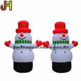 Outdoor Inflatable Christmas Decoration 4m High Inflatable Snowman with Blower
