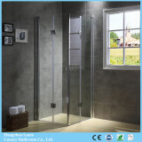 Pivot Hinged Double Doors Shower Box with Tempered Glass (9-3390)