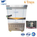 6 Trays Gas Stainless Steel Commercial Food Steamer Suppliers