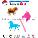 3D Horse Eraser and Stencil for Stationey Set
