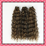 Quality Brazilian Human Hair Weaving Curly Hair 18inches