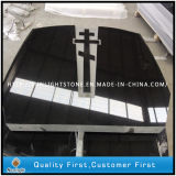 China Absolute Shanxi Black Granite Russia Cross Headstone for Grave