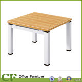 Chuangfan Steel Frame Office Furniture Wooden Dining Table